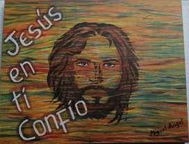 JESÚS AL ÓLEO