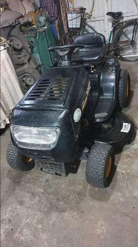 Mini tractor cortacesped pasto tractorcito jardin