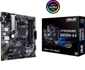 Board ASUS PRIME B450M-A NUEVA