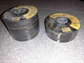 DISCO DESBASTE METAL - 4 1/2 ACERO INOX. - A-24R-BF STANLEY