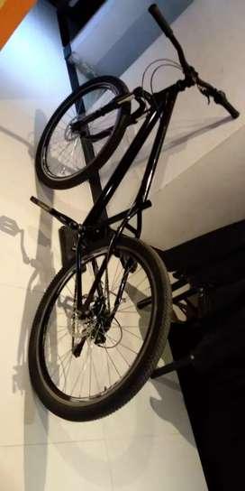 Bicicleta de MTB y dirt jump