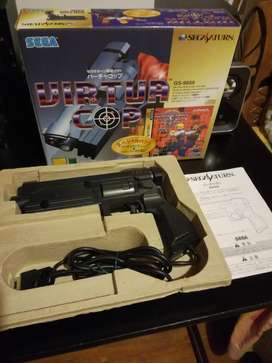 Sega Saturn Virtua Cop Lightgun