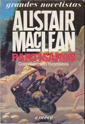 Libro: Partisanos, de Alistair MacLean [novela de espionaje]