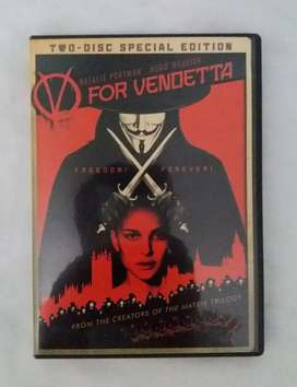 V for vendetta dvd doble original edicion de coleccion