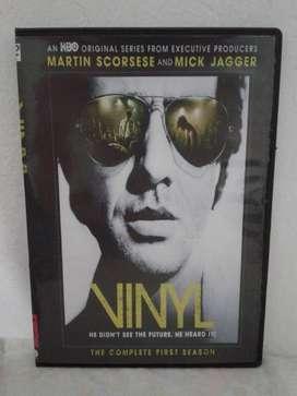 Vinyl (2016) [Martin Scorsese, Mick Jagger, Rich Cohen, Terence Winter] (10 capítulos) Serie completa Envío Incluido