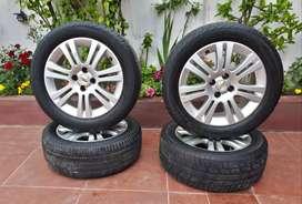 Llantas Chevrolet originales 205/55/16