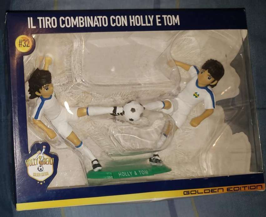 Figura Oliver Y Tom Tiro Doble Supercampeones Captain Tsubasa 0
