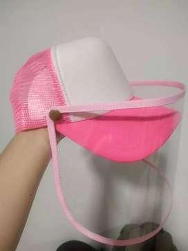 Gorra con protección