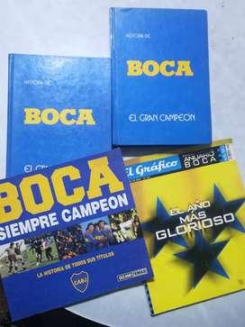 LIBROS HISTORIA DE BOCA Y REVISTAS
