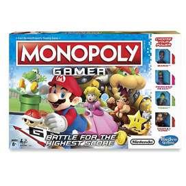 Monopolio Monopoly Gamer Edicion Mario Bros Original Nuevo