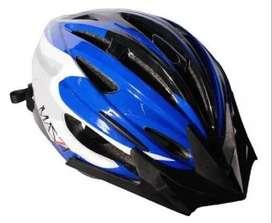 Casco Ciclismo Bicicleta Mazzi Mtb Negro Azul