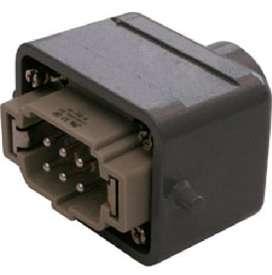 Conector industrial macho 6 polos 16A