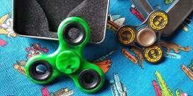 Spiner Metal Plastico verde