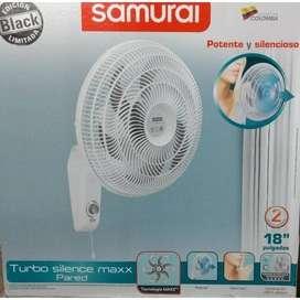 Ventilador Samurai Turbo Silence Maxx Pared 18 6 Aspas