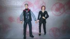 CAMBIO Figuras Mcfarlane Expediente-x Mulder+scully Original