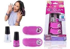Go Glam Repuesto Estampado Uñas Con Esmalte X 2 Spin Master