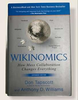 Libro Wikinomics: how mass collaboration changes everuthing - Tapscott & Williams