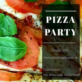 Pizza party zona sur.