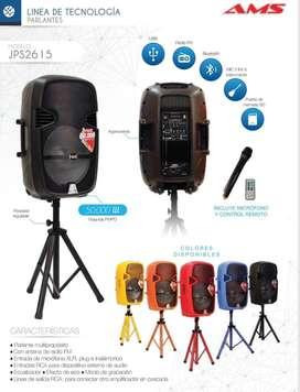 Paralante Multiproposito con microfono y control remoto