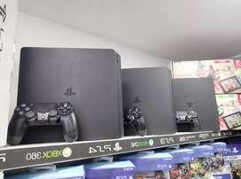 play 4 Slim disponibles PS4 500gb y una tera