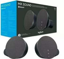 Parlantes logitech estéreo mx sound Bluetooth 24 watts Aux