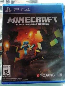 Minecraft Ps4 edition usado buen estado