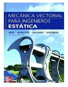 Clases y Asesoría de Estática (Mecánica Vectorial)