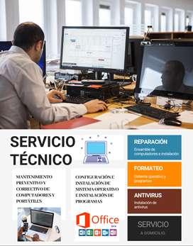 MANTENIMIENTO PREVENTIVO Y CORRECTIVO DE COMPUTADORES Y PORTÁTILES