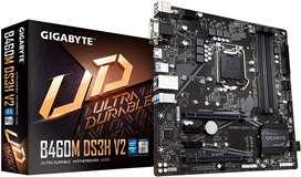 Board B460M DS3H V2 Gigabyte para Intel