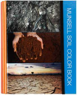 Libro de colores Munsell para suelos, Munsell Rocas, Munsell Tejidos y Vegetales