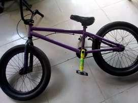 Cicla BMX   destructor