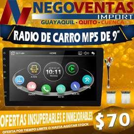 RADIO DE CARRO MP5 DE 9'