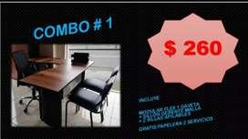 Oferta--Muebles de oficinas