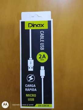 Cable USB ficha micro usb .rápidos nuevos