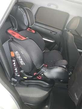 Silla de niños para carro isofix