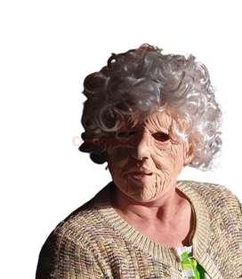 Mascara latex abuela Hermenegilda y abuela zoila halloween NUEVA varias unidades disponibles