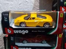 Colección 14 Autos FERRARI GT COLLECTION a Escala 1:43 de la Editorial El Tiempo y Revista Motor. Son 14 und.