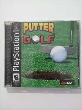 Juego PUTTER GOLF original para PlayStation PS1 PSX PS2 PS3 Play Station
