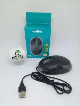 Mouse básico con cable USB