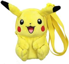 Hori Pikachu Plush Maletica Para 3ds O Switch Lite