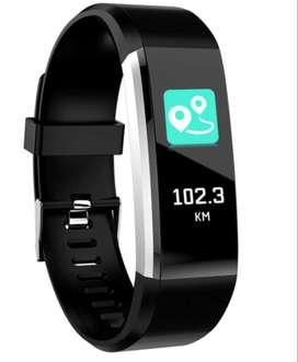 Smartband Deportiva Bluetooth Musica, Mensajes, Selfies, Alarma Reloj Inteligente Temas Configurables, Spotify whatsapp