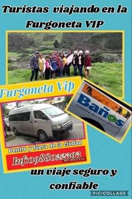 Servicio Turístico vip de furgoneta