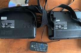 DVD portatil para auto
