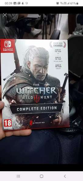 The witcher 3 para switch complete edicion