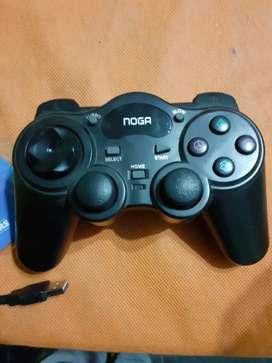 Joystick inalambrico  NOGA muy poco uso.