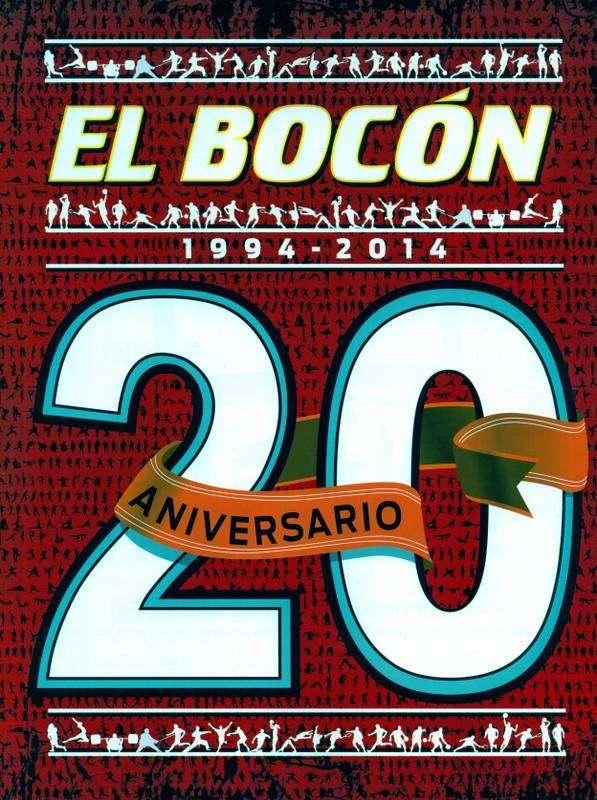 EL BOCÓN - 20 Aniversario (1994-2014) - Revista De Colección
