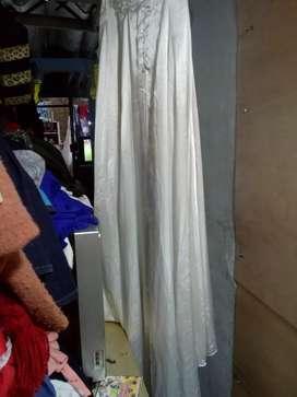 Vendo vestido para matrimonio. Color blanco