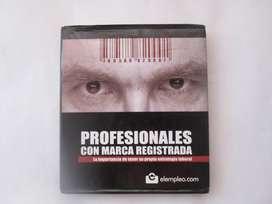 LIBRO PROFESIONALES CON MARCA REGISTRADA usado