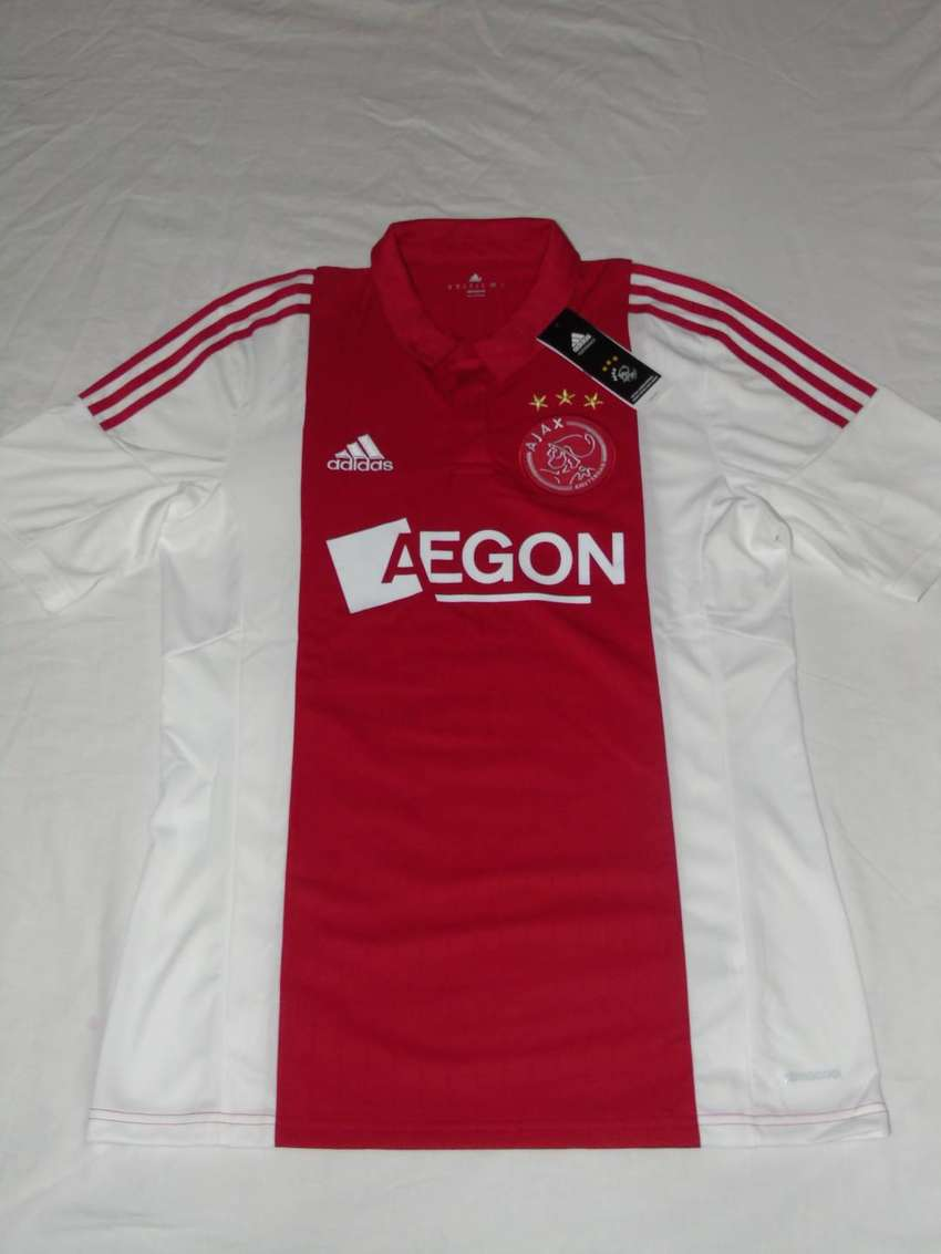 Camiseta Oficial del Ajax de Holanda - Marca Adidas (Nueva, original)