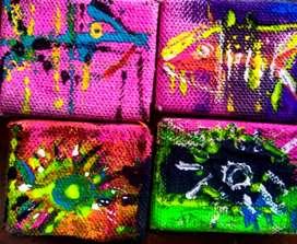 Arte en micro fluorescente